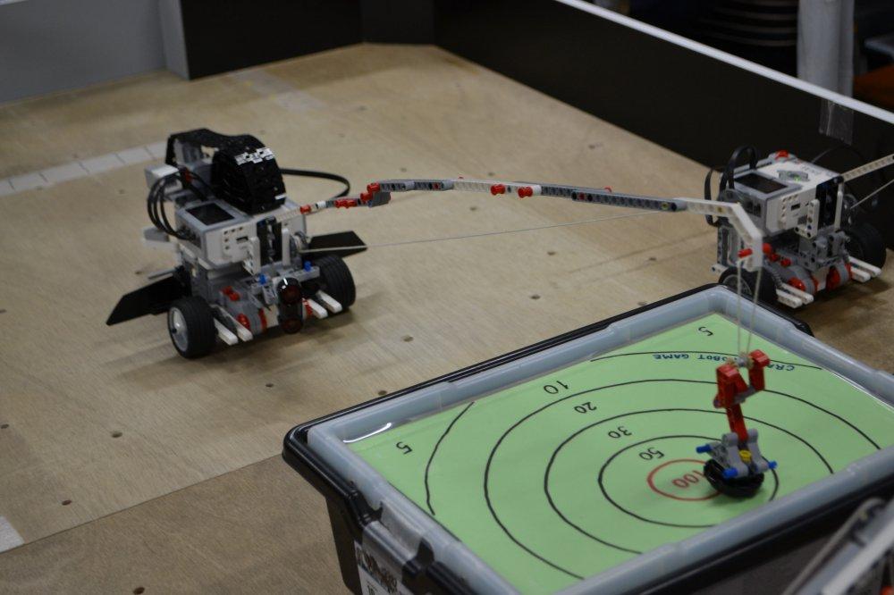 ロボット教室ふじみ野校でロボットクレーン競技の発表会を行いました!