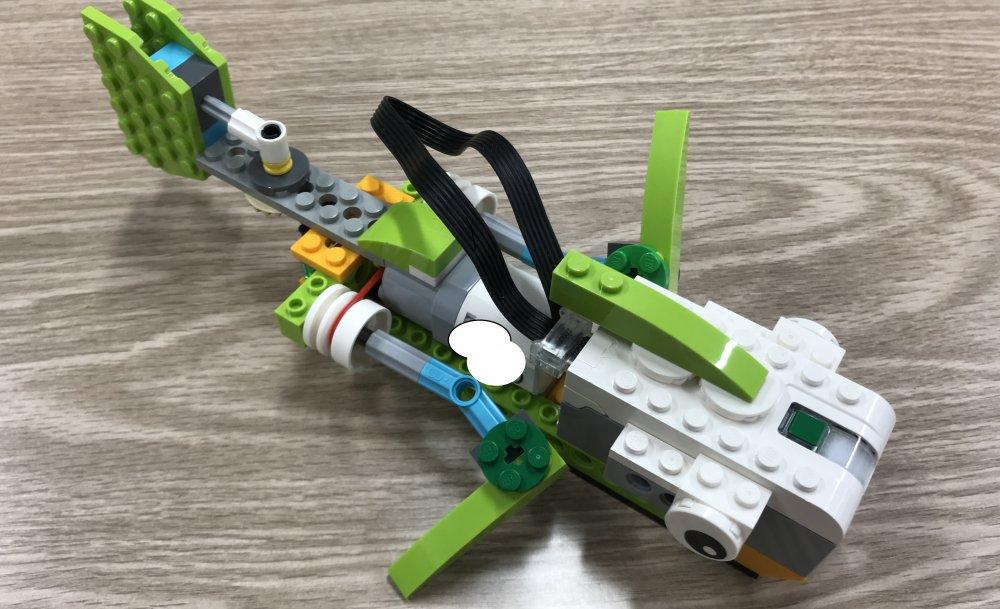 ロボット教室ふじみ野校に通っている生徒さんがさかなロボットを作ってくれました!
