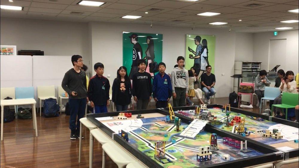 ロボット教室ふじみ野校の生徒たちがFLL交流会に参加しました !!