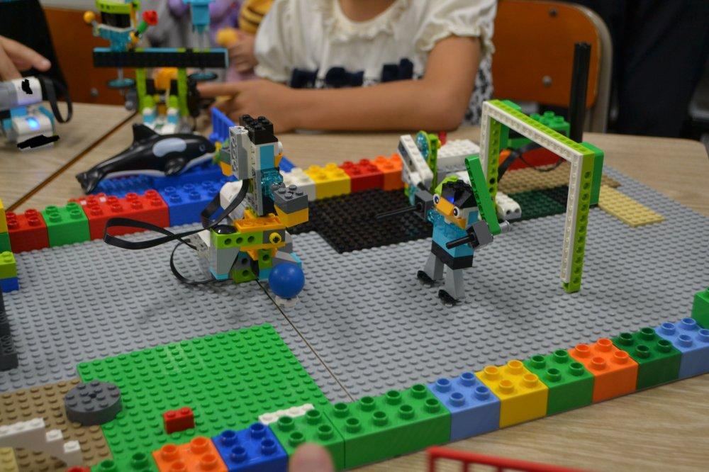 ロボット教室ふじみ野校で小学1年生の生徒さんのロボット発表会を行いました!