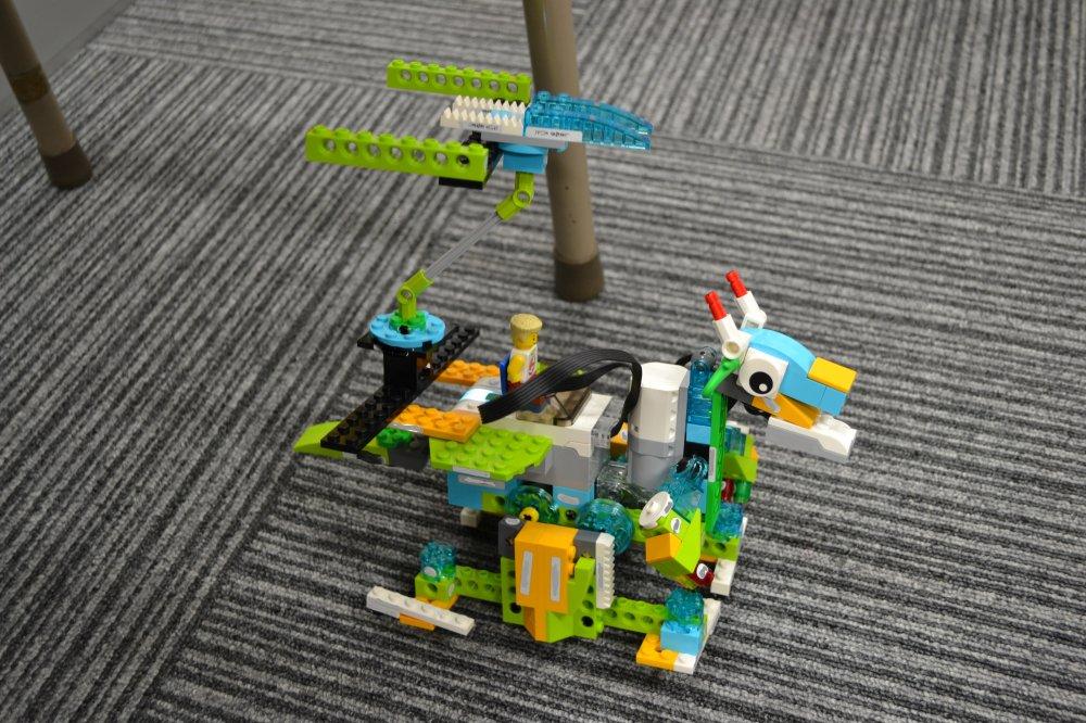 さいたま市からロボット教室に通ってくれている生徒さんの作品を紹介します。
