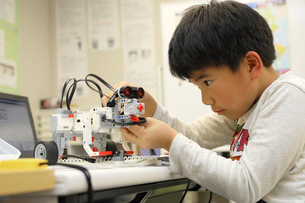 仙台市若林区から通うロボット教室 クレファス仙台