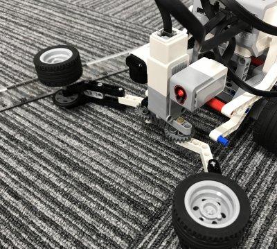 ロボット教室ふじみ野校に通う生徒さんがトレジャーハントロボットを作りました!