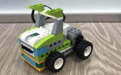 遊びながら考えよう!ロボット教室ふじみ野校でロボットトラックをつかいながらプログラミングを学びました!