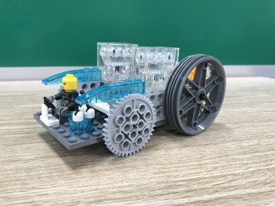 プレスクールの集大成!ロボットプログラミング教室ふじみ野校で水陸両用車をつくりました!
