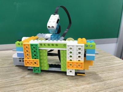 ロボットプログラミング教室ふじみ野校で、自動ドアをつくりました!~その2~