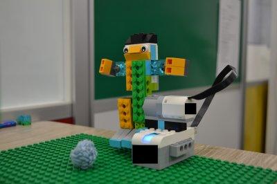 ふじみ野のロボット教室でロボットサッカーをしました!