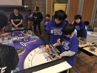世界最大級のロボット競技会、2018年度FLL日本大会に出場しました!