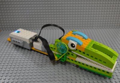 えものを食べちゃうきょうぼうワニ!?ロボット教室ふじみ野校でワニロボットを作りました!